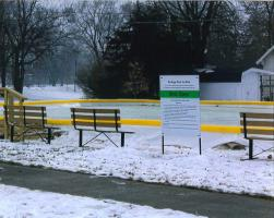 a picture of the ice rink