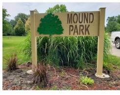 Mound Park Sign
